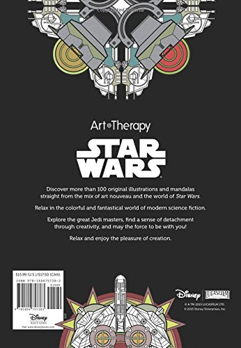 100 Images to Inspire Art of Coloring Art Therapy Star Wars Creativity and Relaxation