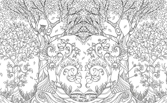 An-Inky-Quest-&-Coloring-Book-Enchanted-Forest