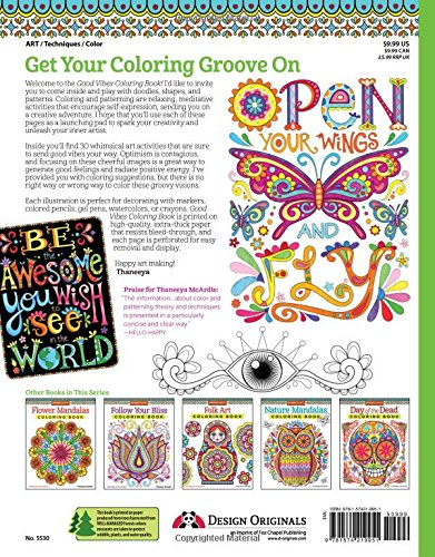 Get inspired with this adult coloring book