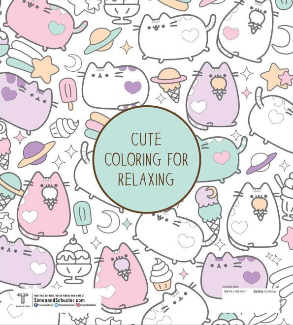 Coloring Book pusheen