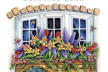 Creative Haven Spring Scenes Adult Coloring Book