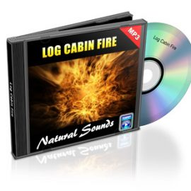 Log Cabin Fire- Sounds of the Hearth