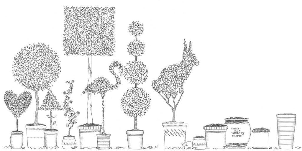Secret Garden by Johanna Basford Coloring Book