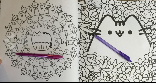 Pusheen the Cat coloring book