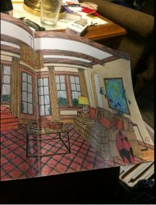 Color At Home: A Young House Love Coloring Book by John and Sherry Petersik
