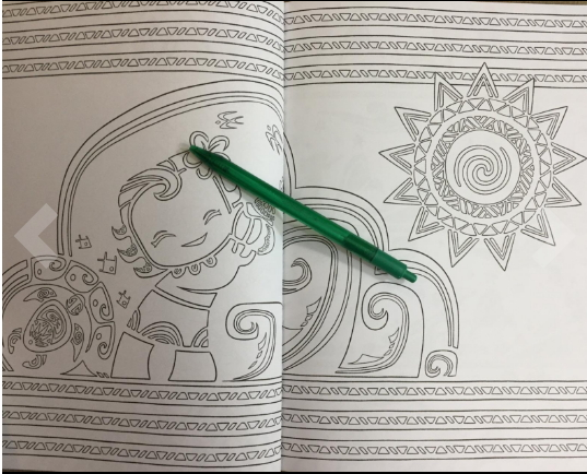 Coloring pages for Moana fans