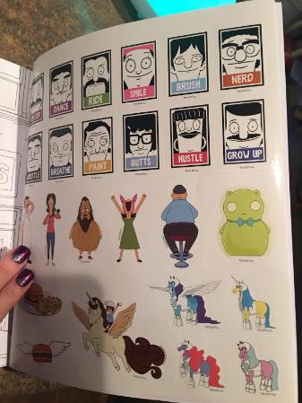 bob burguers coloring book