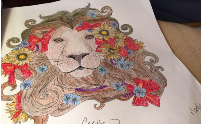 coloring-book-lion