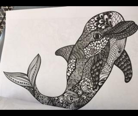 dolphin-coloring-page