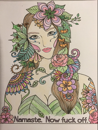 Irreverent Adult Coloring book