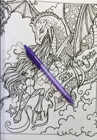 I Dream In Color An Inspirational Journey Coloring Book