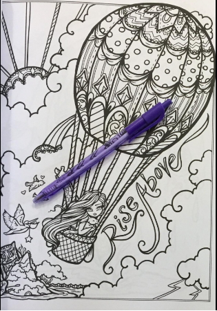 Hannah Lynn coloring pages for grownups