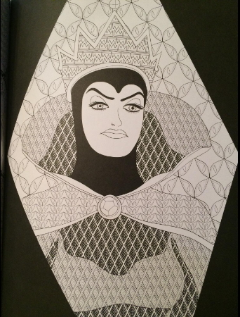 snow white coloring book