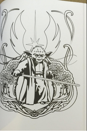star wars coloring page