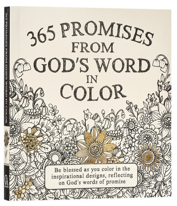 365 Promises From God's Word In Color: Scripture Coloring Pages