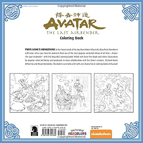 Last-Airbender-Avatar-The-Coloring-Book