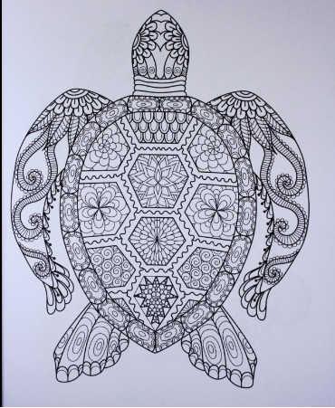 Adult coloring books animals stress relief coloring for Stress relief coloring pages online