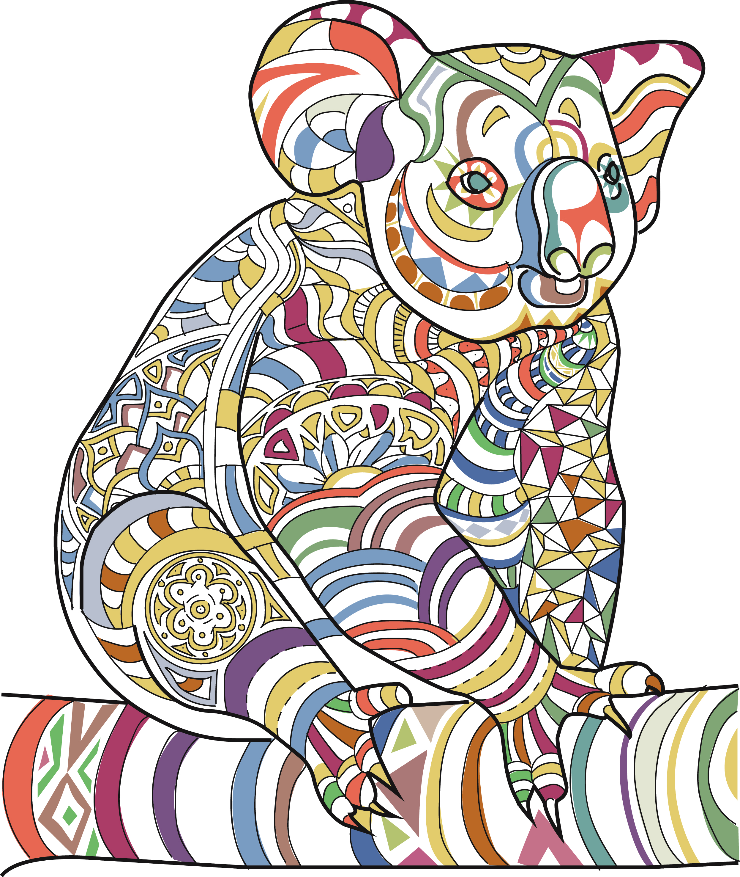 amazing animals vol 1 anti stress coloring book for adults