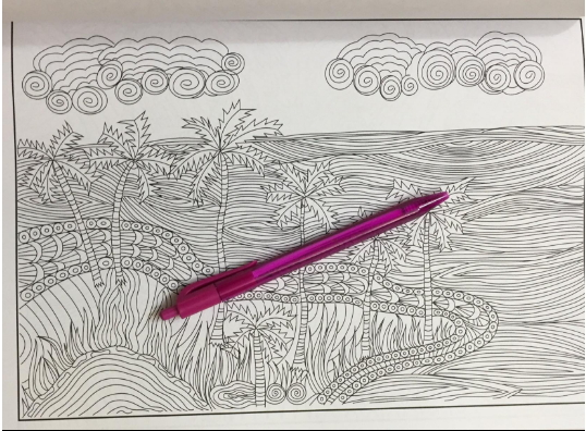 sea coloring book