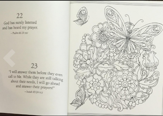 spiritual coloring page